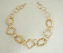 Bronze Clover Necklace